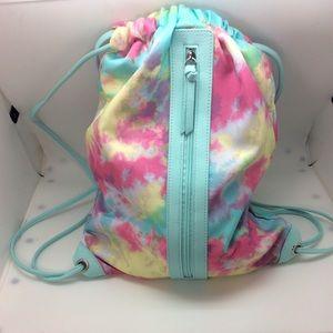 Tie Dye Drawstring Backpack